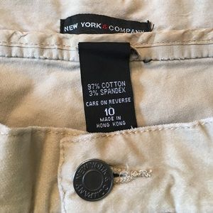 New York and Co. Faux Suede Cotton/Spandex Pant